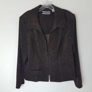 Amanda Smith II Women's Snake Skin Coat Jacket
